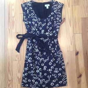 LOFT Navy Dress with Pockets